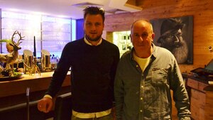 "Philipp Bargfrede im Restaurant ""Mehde Gold"""